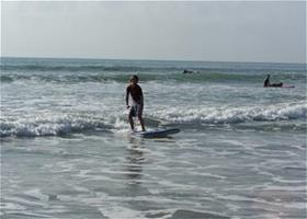 Cocoa Beach surf lessons for youth