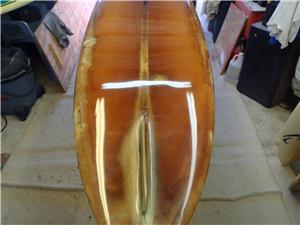 vintage surfboard repair