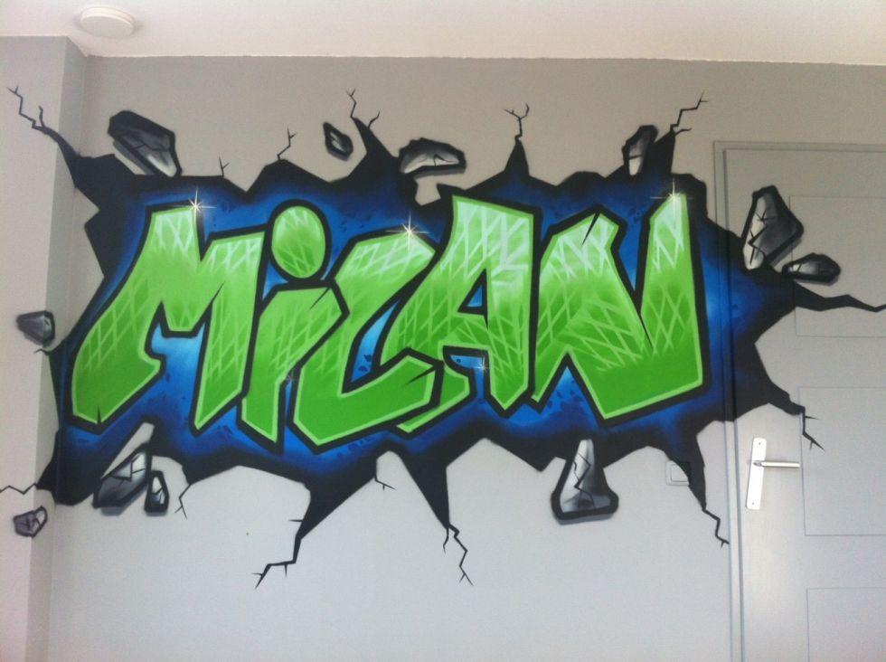 Graffiti Behang  Surfing4art
