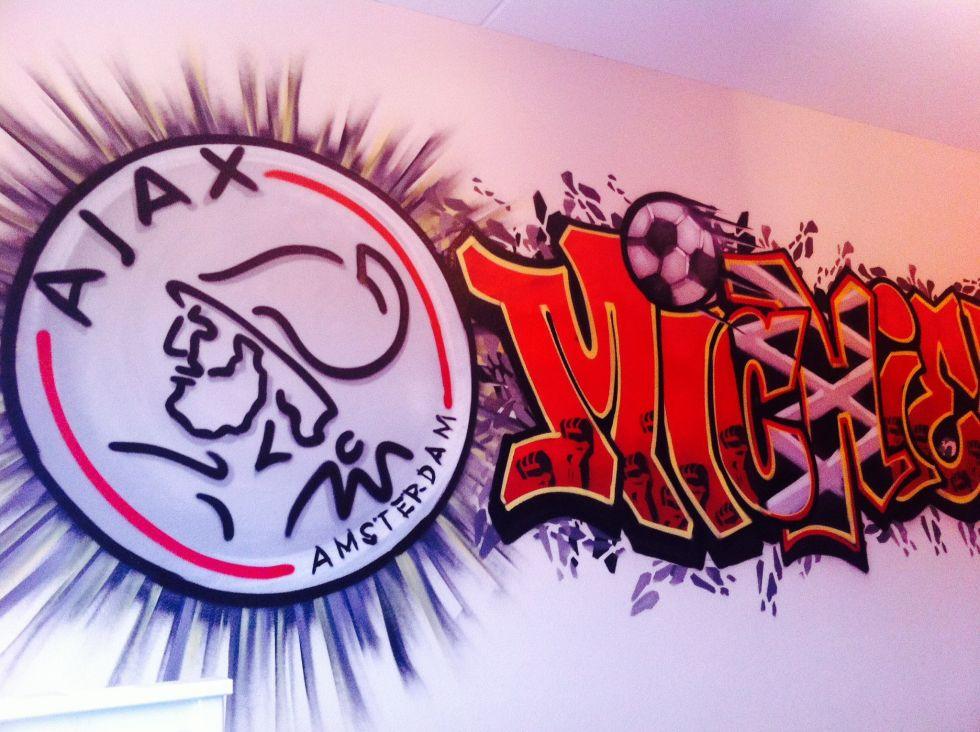 Graffiti slaapkamer  Surfing4art