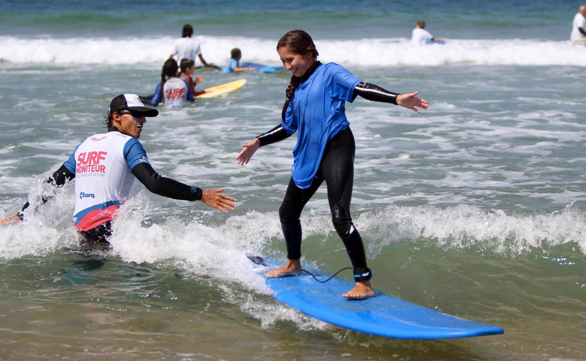 Ecole de surf Labenne, Sharkpool