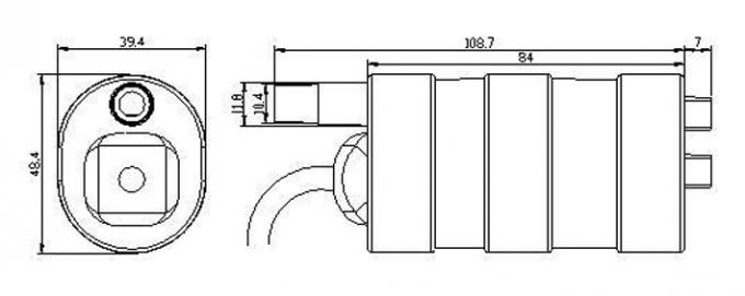 DC submersible pump 12V mini water pump RV toilet flushing