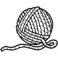 Ball of Yarn » Coloring Pages » Surfnetkids