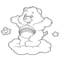 Cheer Bear » Coloring Pages » Surfnetkids