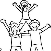 cheer coloring pages # 70