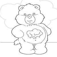 Grumpy Bear » Coloring Pages » Surfnetkids