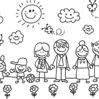 My Family » Coloring Pages » Surfnetkids