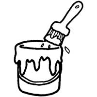 Paint Can » Coloring Pages » Surfnetkids