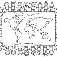 Small World » Coloring Pages » Surfnetkids