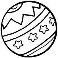 Starry Bouncy Ball » Coloring Pages » Surfnetkids
