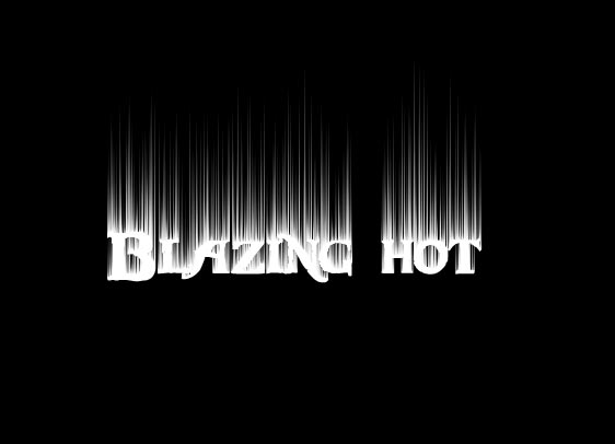 Blazing Hot Text Tutorial Photoshop
