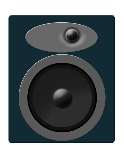 Drawing a Speaker In Photoshop