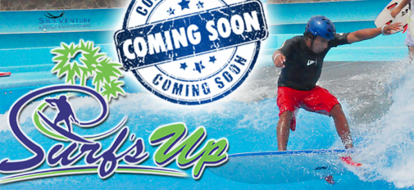 Surf's Up Wave Pool at SkyVenture's in NH Coming Soon