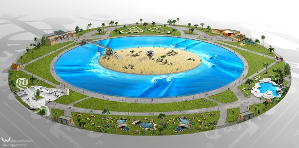 Greg Webber's Wave Pool Plans by Australia's Surfing Life