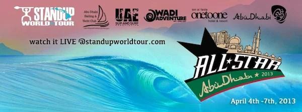 Abu Dhabi All Stars Live Stream | SUP Wave Pool Event