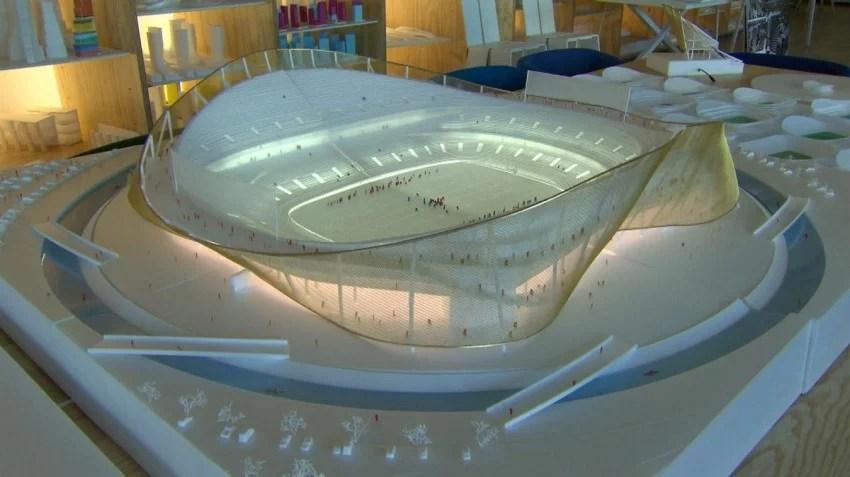BIG Architects Surf Moat at Washington NFL Stadium | Surf Park Central