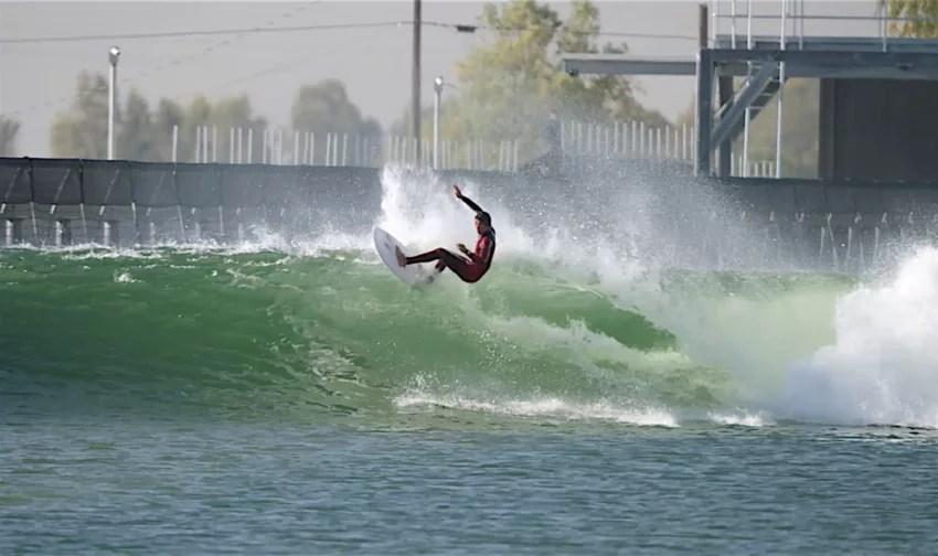 Kanoa Igarashi Top Turn at KS Wave Co Surf Ranch