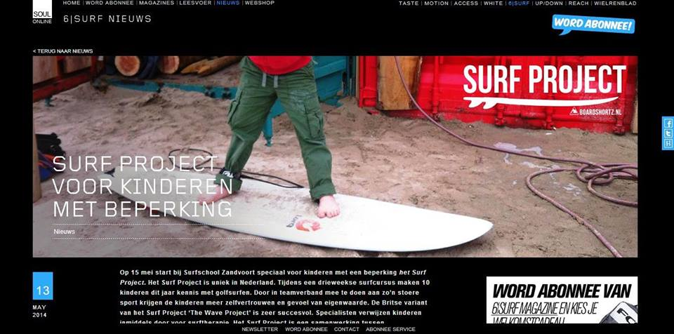 6 Surf Media Page