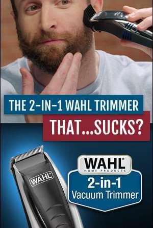 wahl vacuum trimmer