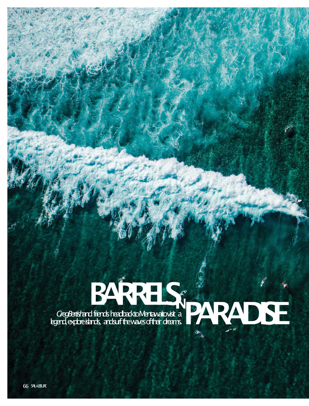 Page 1 Barrels of paradise