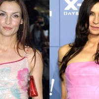 Famke Janssen Plastic Surgery Before After, Breast Implants