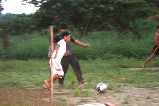 A Kick at Dusk