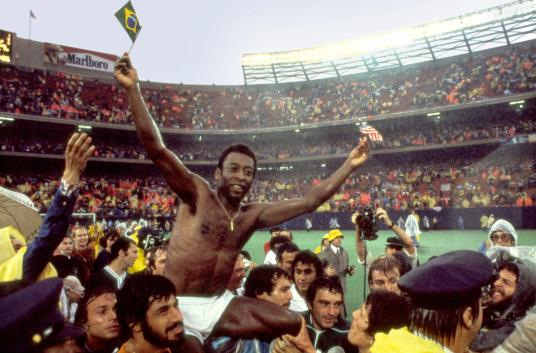 Scene from the sports documentary, 'Once in a Lifetime.' A story about PELE. Mandatory Credit: Photo by Miramax Films. (c) Copyright 2006 by Courtesy of Miramax Films