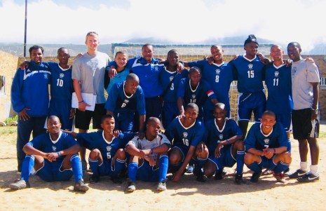 South Africa Prison Academy Glory to God!