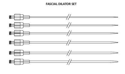 fascial dilator set india