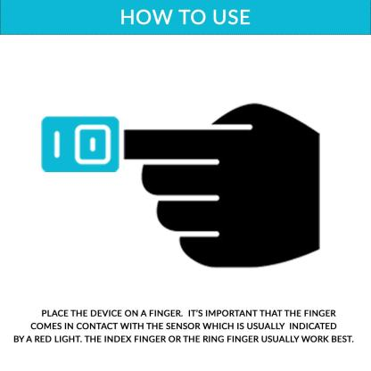 how to use pulse oximeter india