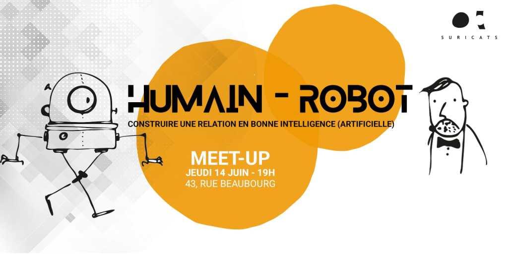 Meet-up organisé par Suricats Consulting autour de l'éthique, l'Intelligence Artificielle et la Robotique