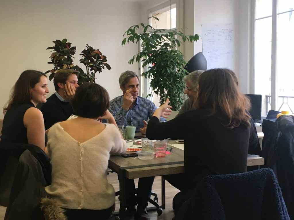 Atelier formation Design Fiction - Animation du jeu par Suricats