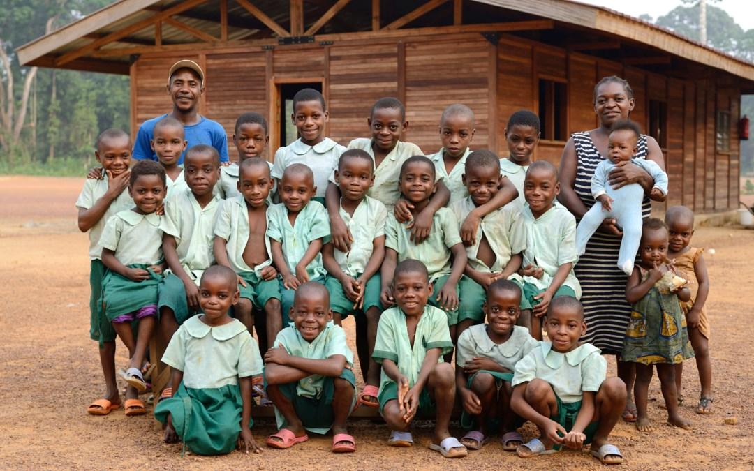 Soutenez l'école de Lolabé !