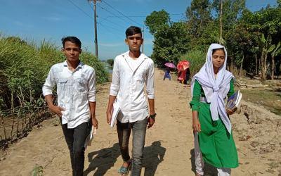 Bangladesh : de nouveau sur le chemin de l'école !