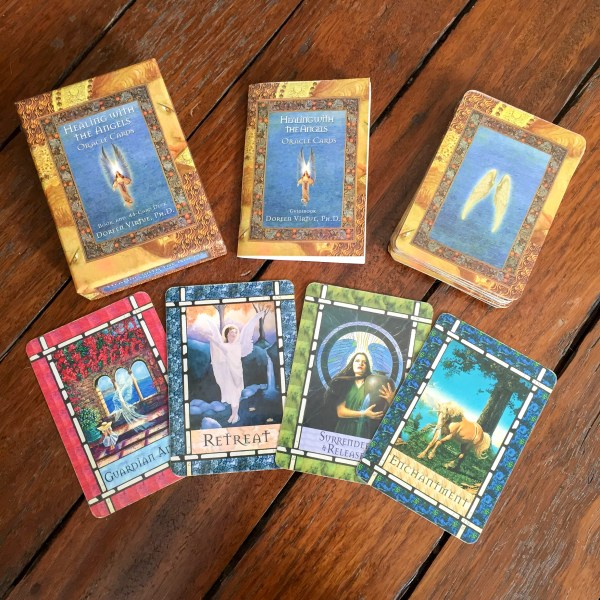 Healing With the Angels Oracle Deck
