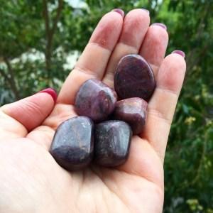 Ruby tumble stones