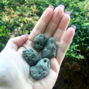 Pyrite tumble stones