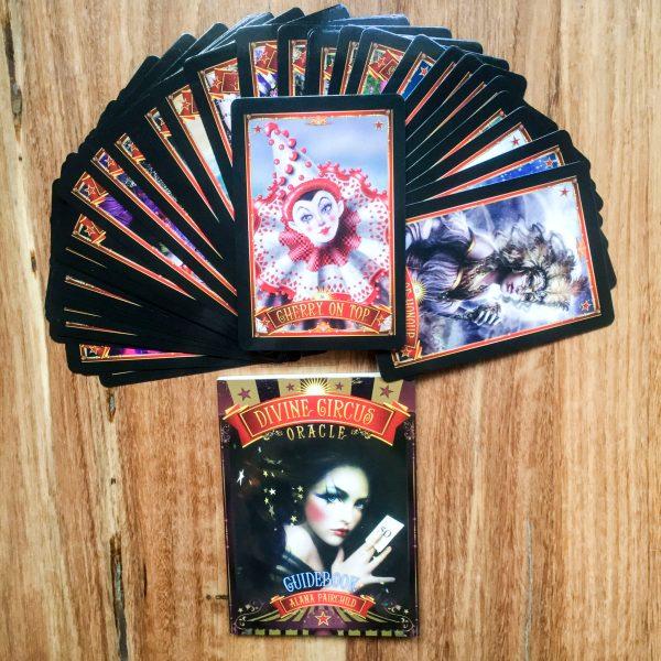 Divine Circus Oracle Cards