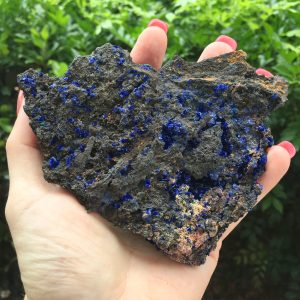 Azurite and Malachite cluster