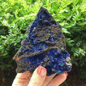 Azurite and Malachite cluster