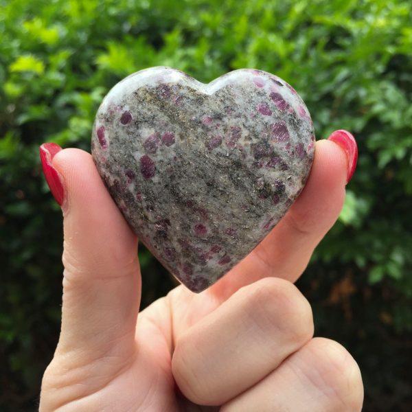 Ruby in matrix heart