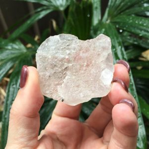 Morganite raw specimen