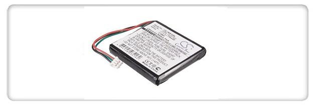 Battery for TomTom 1EX00, Start, Start2, 4EX0.001.11, Easy