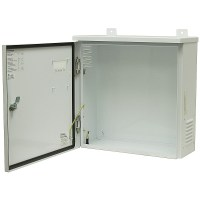 LARGE WHITE ELECTRICAL ENCLOSURE CABINET | Enclosures ...