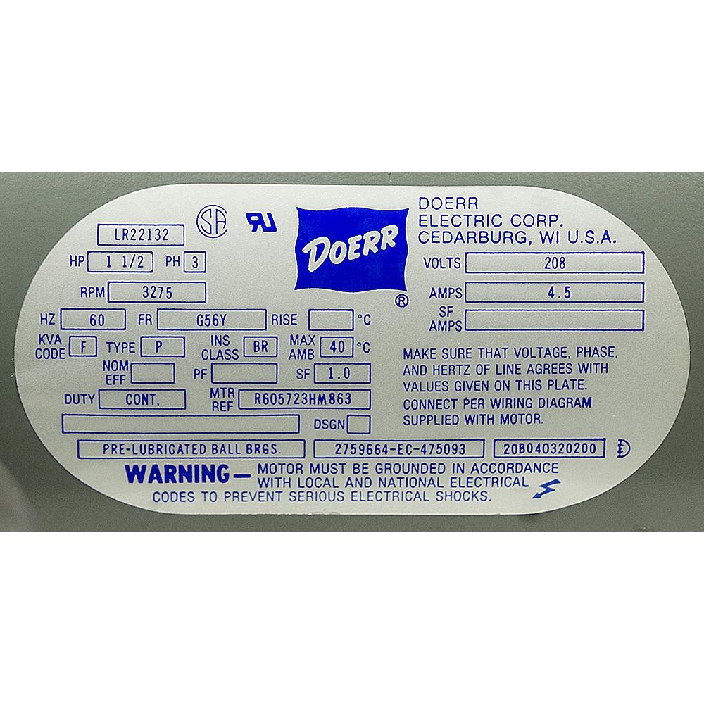 Doerr Electric Motors Wiring Diagram Free Download Wiring Diagram