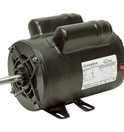 2 hp 115 230 3450 rpm marathon air compressor motor [ 1000 x 1000 Pixel ]