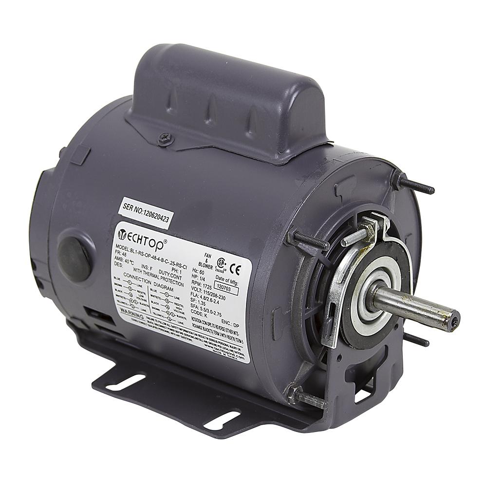 medium resolution of 1 4 hp capacitor start 1725 rpm motor