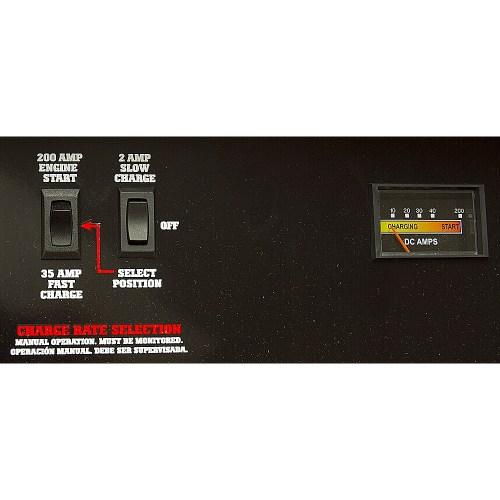 small resolution of 2 35 200 amp schumacher battery starter charger alternate 3