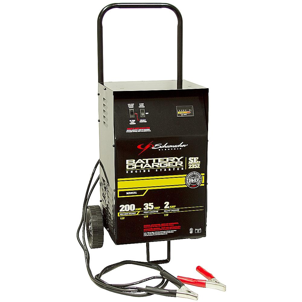 medium resolution of 2 35 200 amp schumacher battery starter charger