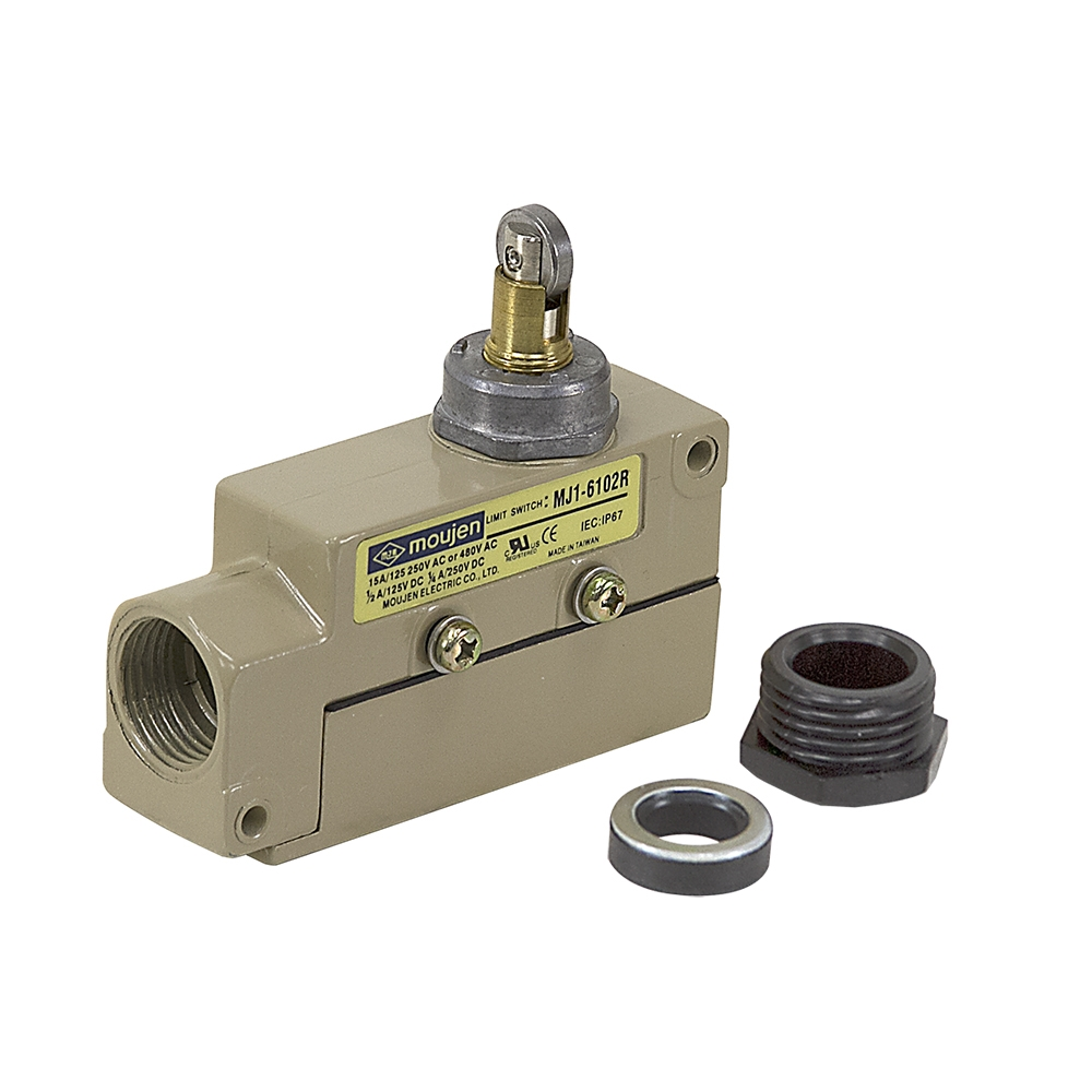 medium resolution of mj1 6102r enclosed limit switch top push roller